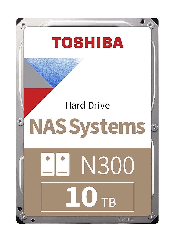 "Toshiba N300 10TB NAS 3.5"" SATA HDD 'Bulk' (HDWG11AUZSVA) £208.99 Amazon"