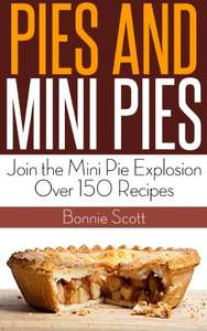 Pies and Mini Pies / Baking With Coconut - Recipe Books - Kindle Edition now Free @ Amazon