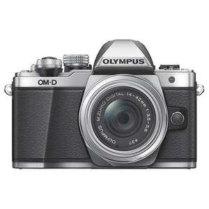 Olympus OM-D E-M10 Mark II Compact System Camera in Silver with 14-42mm Lens - Ex Display - Jessops, £299.97
