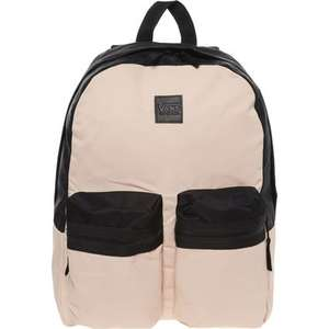 VANS Double Down Backpack in Light Pink or Charcoal £14.99 + £1.99 Click & Collect @ TK Maxx