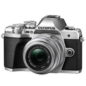 Olympus OM-D E-M10 Mark III Mirrorless Camera in Silver with 14-42mm R Lens - £439.97 at Jessops