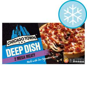 Chicago Town Deep Pizzas 2 In Each Pack £1 @ Tesco