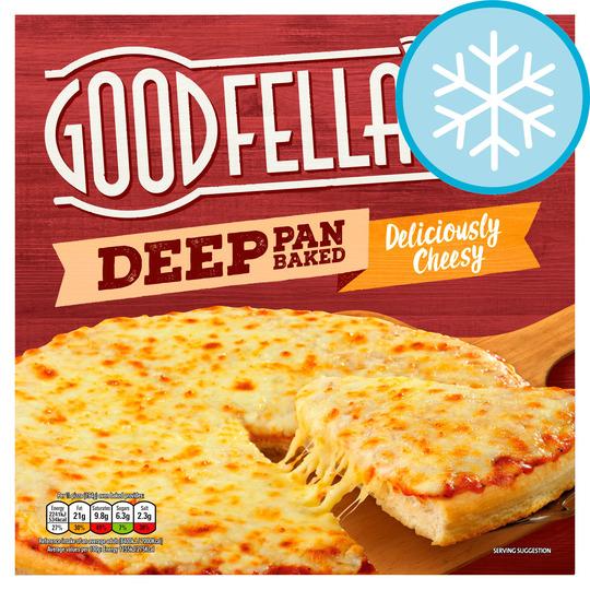 Goodfellas Deep Pan Pizzas £1.12 From Tesco