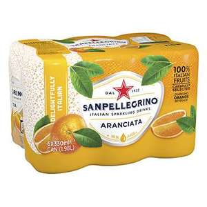 San pellegrino 24 cans, 89p Holland and Barrett - free Click & Collect / £2.99 delivery