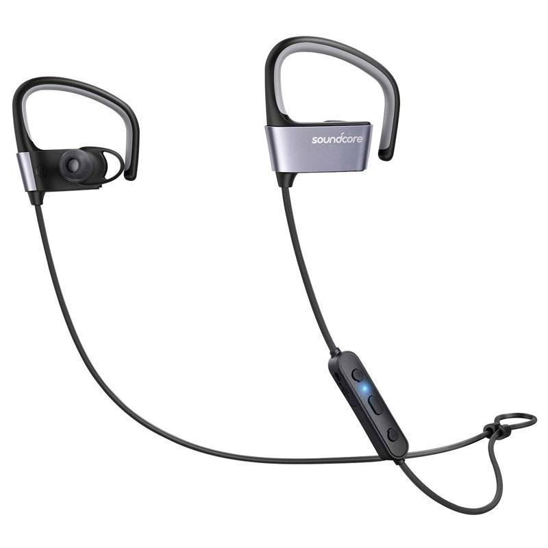 Anker SoundCore Arc Wireless Bluetooth Sports Headphones - Black/Blue £21.99 @ My Memory