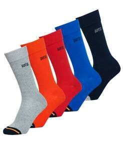 Superdry SD Jacquard Five Pack Socks £8 Delivered @ Ebay Superdry store