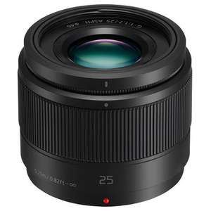 Panasonic 25mm f/1.7 Lens in Black - H-H025 £79.97 at Jessops