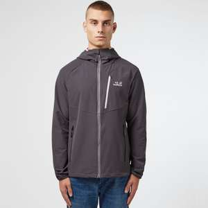 Jack Wolfskin Kanuka Point Zip Through Jacket in Grey, Blue, or Green now £60 click & collect @ Scotts Menswear