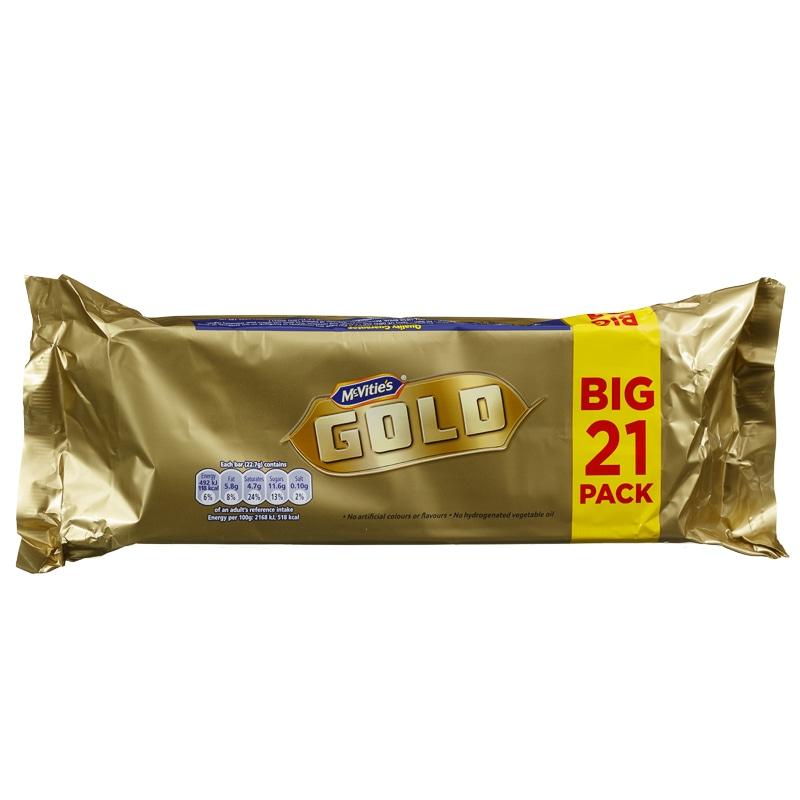 McVities Gold Bar 21 BIG PACK £1.99 @ Home Bargains Cramlington