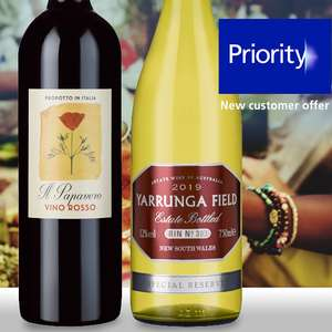 Choice of Il Papavero red wine or Yarrunga Field Special Reserve white wine for only £1 delivered at laithwaites from O2 priority