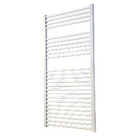 Flomasta Flat Ladder Towel Radiator 1200 X 600MM White £6.99 at Screwfix