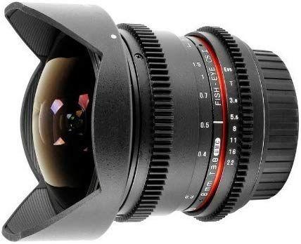 Samyang V-DSLR 8mm T/3.8 UMC Fish-Eye CS II Lens for Canon - £89.74 @ Amazon Italy