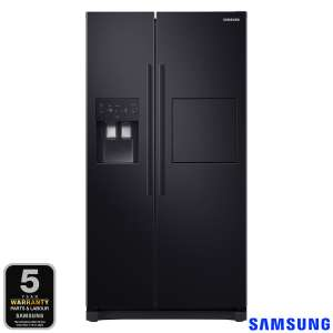 Samsung RS50N3913BC, Side by Side Fridge Freezer A+ Rating in Black £799.89 at Costco