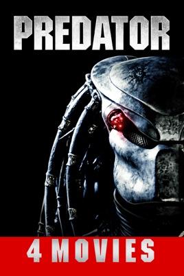 Predator 4-Movie Collection - £8.99 HD @ Google Play