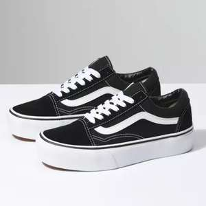 Vans Old Skool Platform women's trainers in black for £50 delivered @ Urban Outfitters
