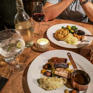 Two-Course Carvery Meal for Two (Starter and Main) at Toby Carvery £14.99 via Groupon