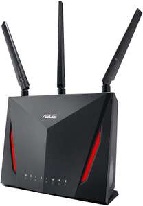 ASUS RT-AC86U Wi-Fi AC2900 (AI Mesh USB 3.0 Router, AiProtection by Trend Micro, AI Mesh, WTFast Game Accelerator £135.99 @ Amazon