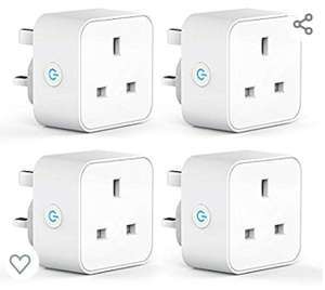 WiFi Smart Plug with Energy Monitoring, Remote Control £31.99 Sold by Aoycocr-eu and Fulfilled by Amazon