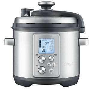 SAGE by Heston Blumenthal Fast Slow Pro Pressure/Slow Cooker - Stainless Steel £95 at Currys PC World