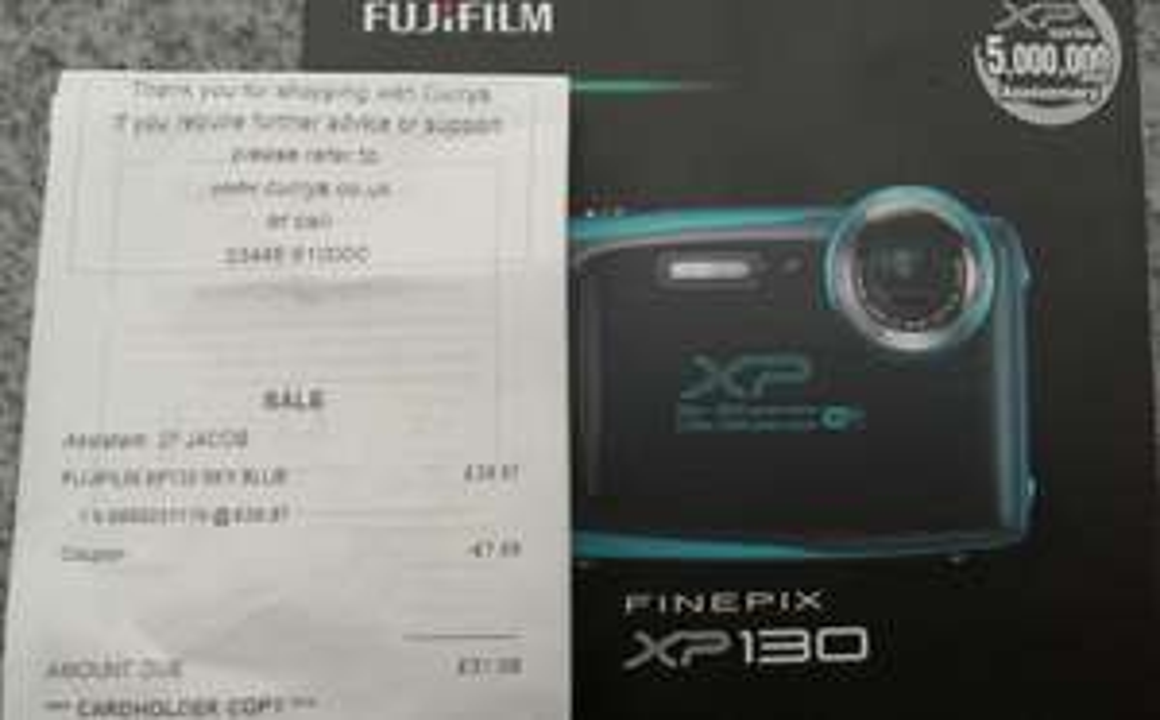 Fuji finepix xp130 £31.98 @ Currys PC World Coventry