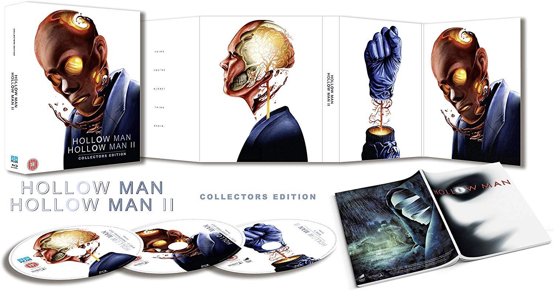 Hollow Man / Hollow Man 2 - Collector's Edition [Blu-ray] [2019] @ Amazon UK £9.99 + £2.99 NP