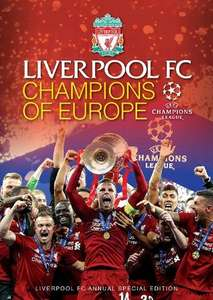 Liverpool: Champions of Europe [Hardback book] £1 @ WHSmith instore