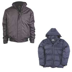 Site Burr Pilot Jacket £8.99 / Site Hawthorn Jacket £13.99 - Free Click & Collect @ Screwfix