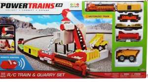 Power Trains Radio Controlled Quarry Set now £15 free click and collect at Argos