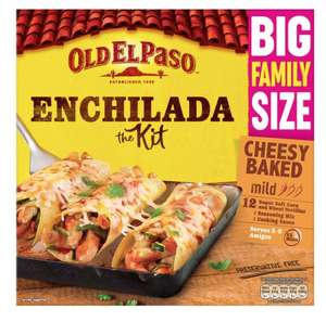Cheese bake Enchiladas Family Size 10p @ B&M Manchester Fort