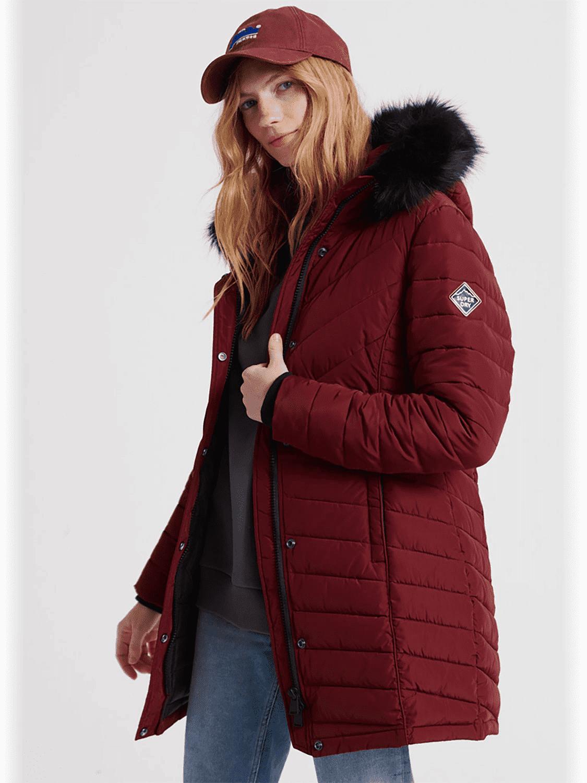 Costco: Superdry Icelandic Parka Jacket Red £49