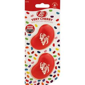 Jelly Belly 15710A 3D Gel Mini Vent Air Freshener Duo Pack-Very Cherry £2.50 + 99p NP @ Amazon