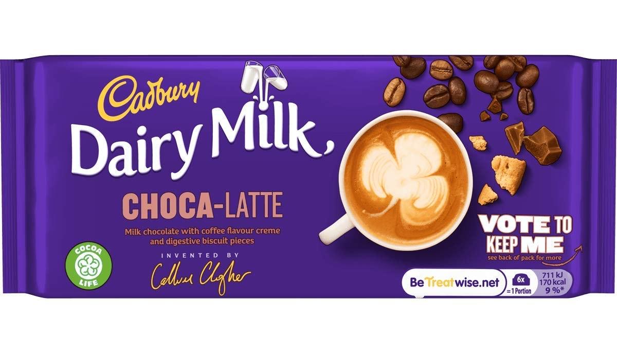 Dairy Milk Choca-Latte/Raspberry Shortcake/Simply The Zest 79p @ Heron Foods Halesowen