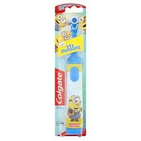 Colgate Minions Extra Soft Battery Toothbrush, Assorted £3.48 (+£4.49 Non Prime) @ Amazon