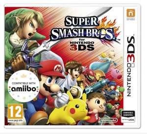 Super Smash Brothers Nintendo 3DS Game featuring Pokemon 12+ Years for £13.99 Free C&C @ Argos & Argos/Ebay