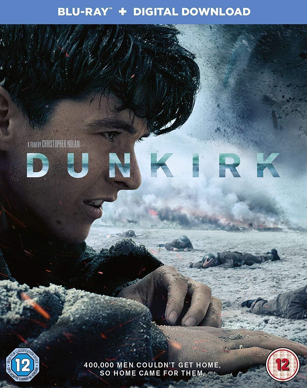 Dunkirk 1080p Blu-Ray £5.38 + £2.99 Non Prime @ Amazon