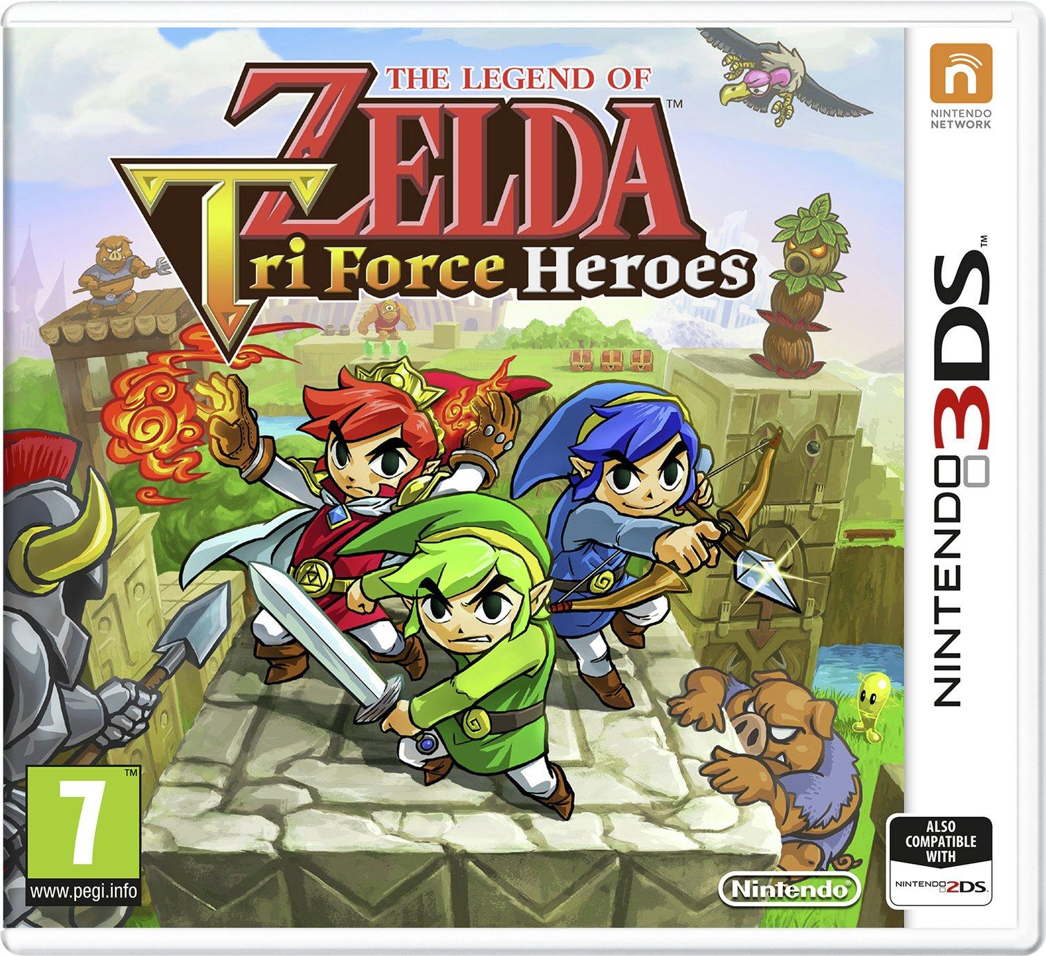 The Legend of Zelda Tri-Force Heroes Nintendo 3DS Game for £7.99 @ Argos