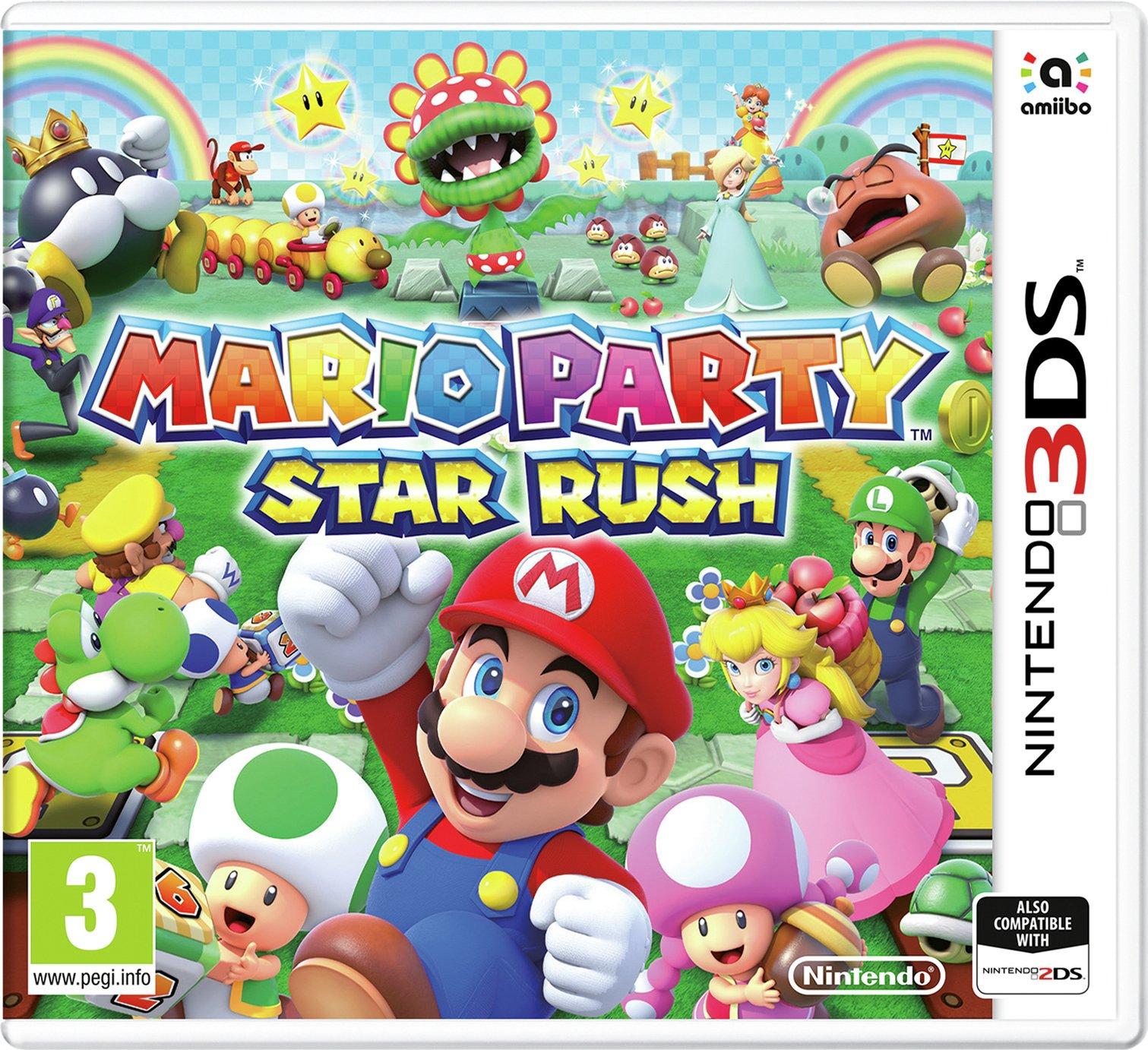 Mario Party: Star Rush Nintendo 3DS Game - £7.99 @ Argos