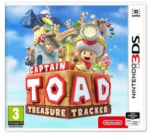 Captain Toad Treasure Tracker 3DS Game for £7.99 Free Click & Collect @ Argos