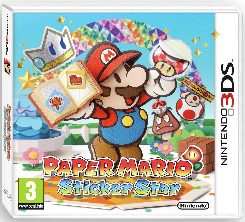 Paper Mario: Sticker Star Nintendo Selects 3DS Game - £7.99 @ Argos