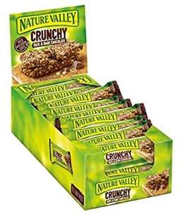Nature Valley Crunchy Oats and Chocolate Cereal Bars 42g (Pack of 18) £4.50 (Prime) / £8.99 (non Prime) at Amazon