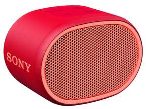 Sony XB01 Wireless Speaker - Red, £16.99 at Argos (free collection)