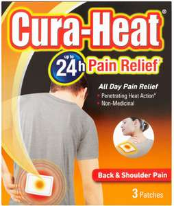Cura Heat Heat Pack 3 Pack On Offer @ Tesco £1.75