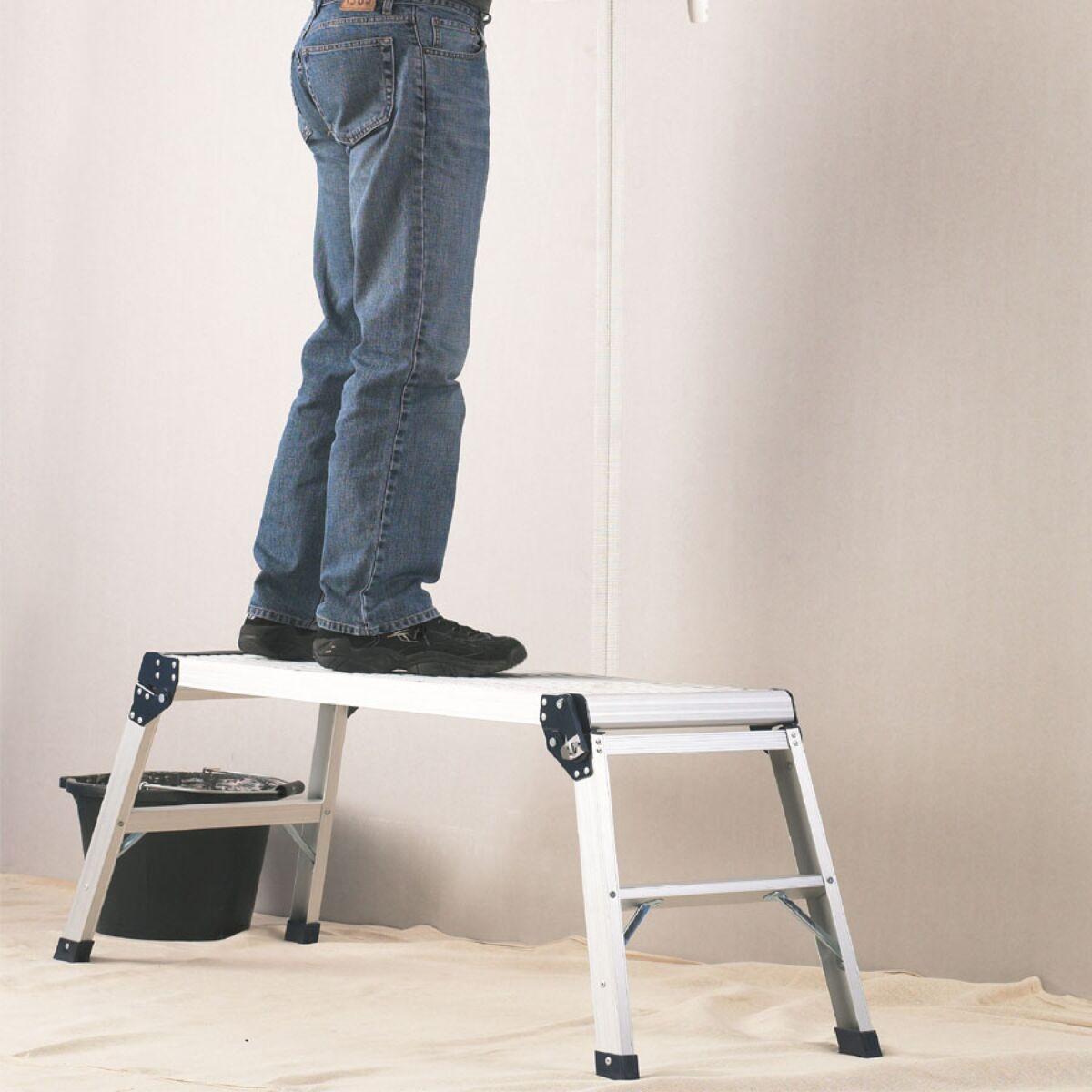 Abru Handy Work Platform Ladder now £20 free click and collect at Argos