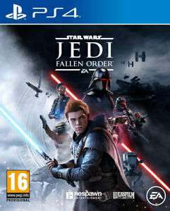 Star Wars Jedi Fallen Order (PS4) now £36.85 delivered with code at The Game Collection eBay