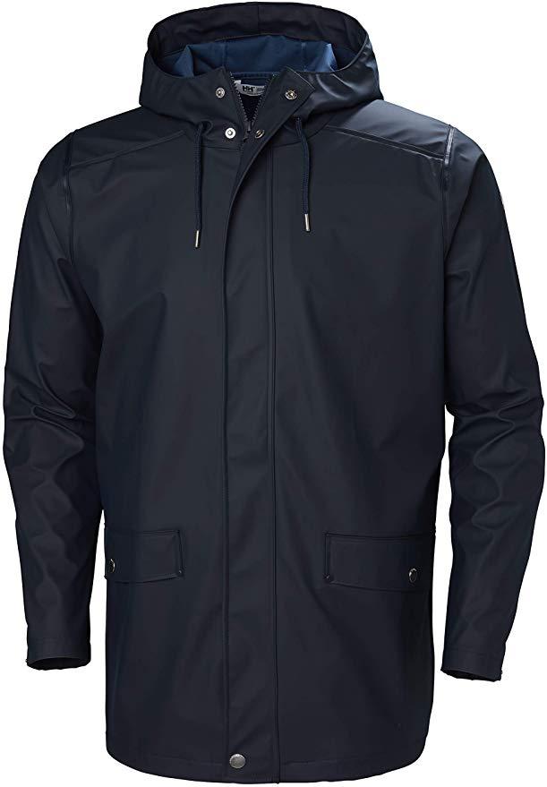 Helly Hansen Moss Long Hooded Fully Waterproof Windproof Raincoat Jacket XL £33.64 Amazon