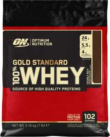 Optimum Nutrition Gold Standard Whey Protein Powder 102 Servings, 3.16 kg £40.99 Amazon