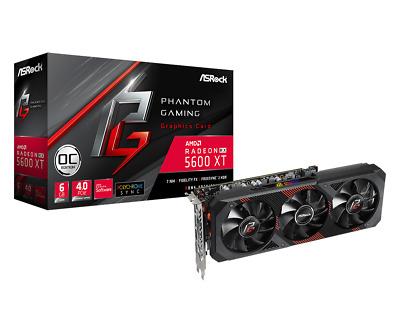 ASRock Radeon RX 5600 XT 6GB Phantom Edition Graphics Card £309.43 cclcomputers eBay