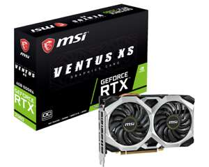 MSI GeForce RTX 2060 Ventus XS 6GB Overclocked Graphics Card *Open Box* From Ebay/CCL