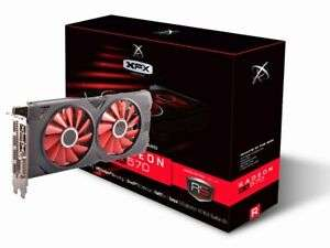 XFX Radeon RX 570 8GB GPU OC EDITION (Open Box) with free 3 months game pass for PC £107.16 @ CCL eBay