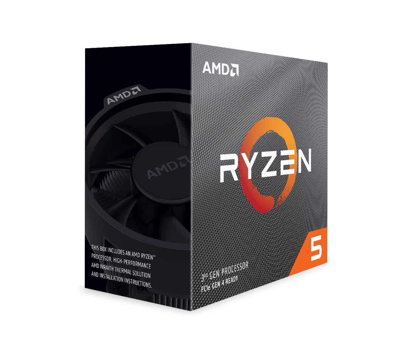 AMD Ryzen 5 3600 Processor (6C/12T, 35MB Cache, 4.2 GHz Max Boost) 100-100000031BOX £169.98 Amazon